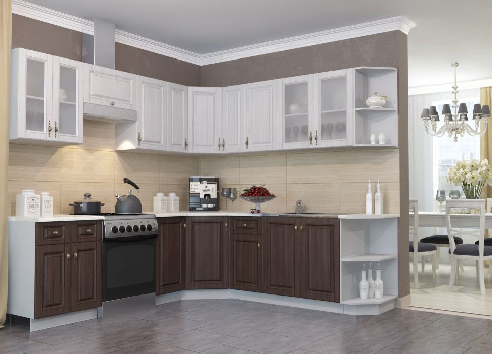 Кухня Империя П 350 Шкаф верхний