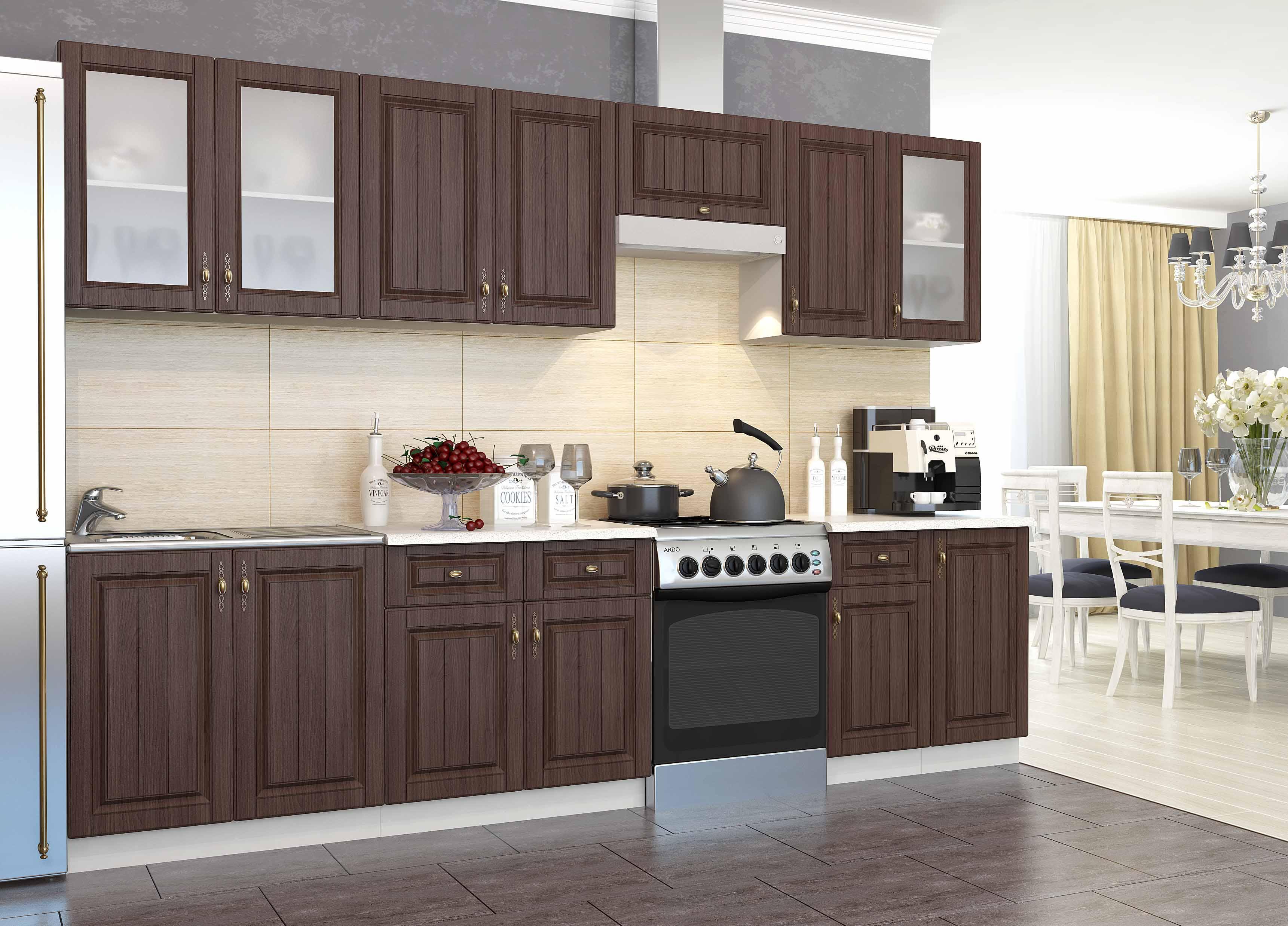 Кухня Империя CМ 600 Шкаф нижний мойка