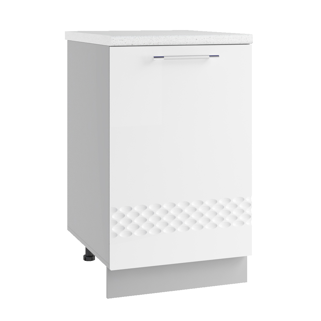 Кухня Капля 3D С 601 Шкаф нижний петли справа