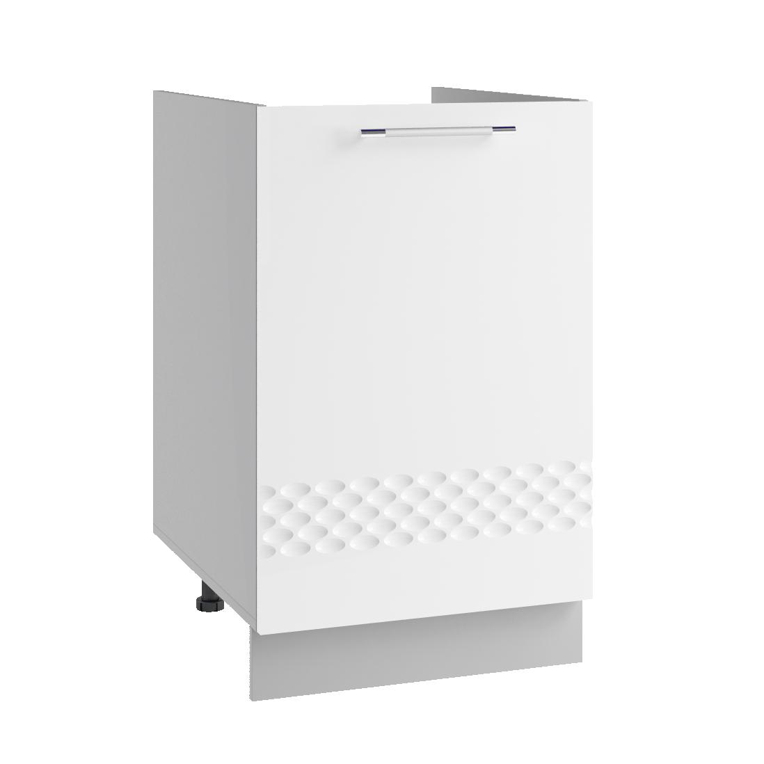 Кухня Капля 3D СМ 601 Шкаф нижний мойка петли слева