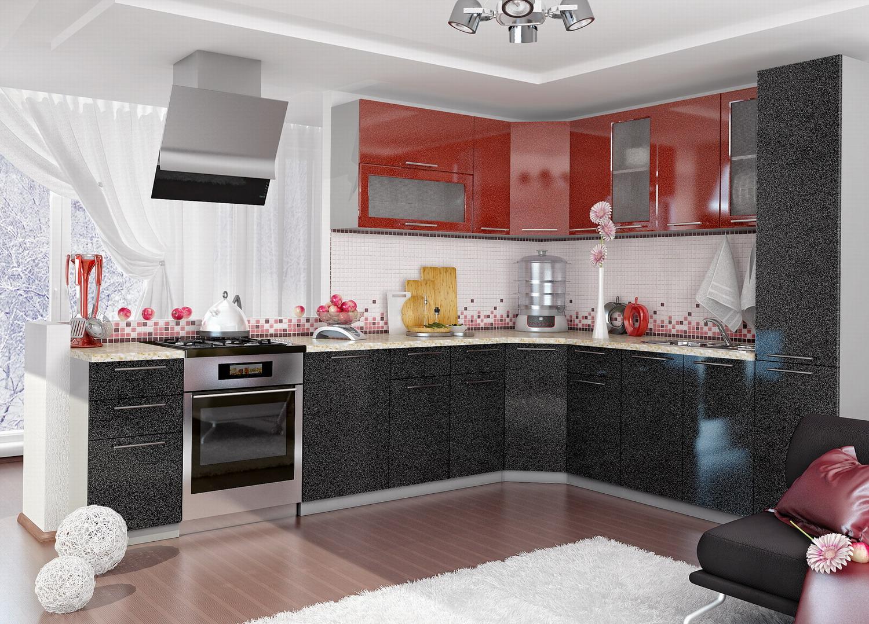 Кухня Олива угловая 2550*2450