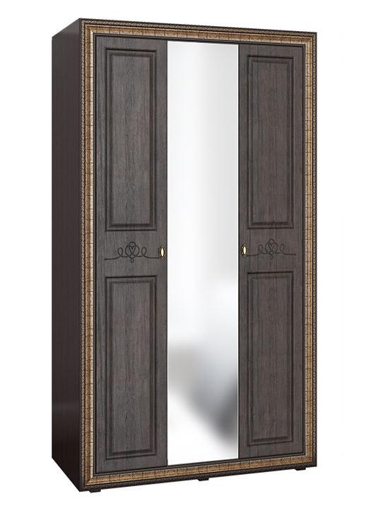 Версаль Шкаф  ВР-110 Шкаф 3-х створчатый с зеркалом
