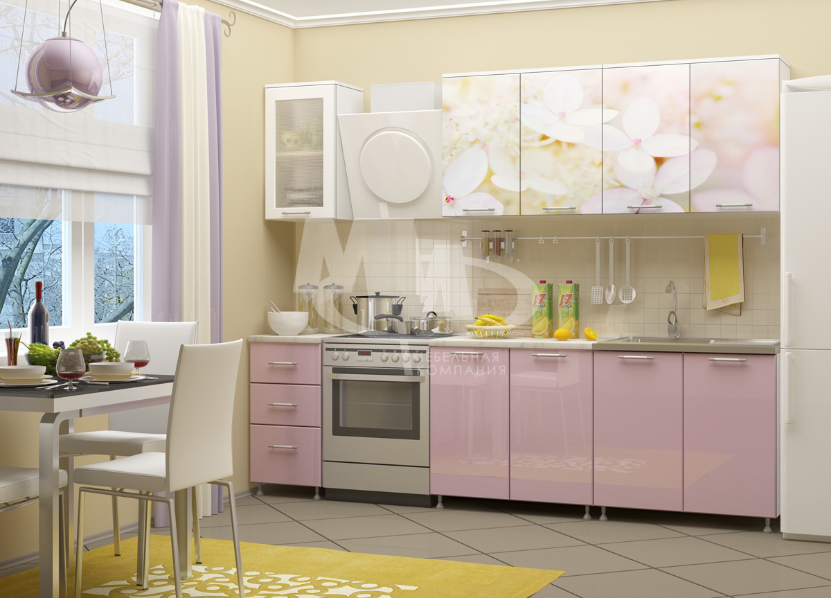 Кухня Вишневый цвет 2,0