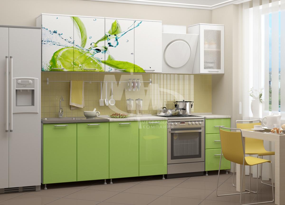 Кухня Лайм 2,0 МИФ