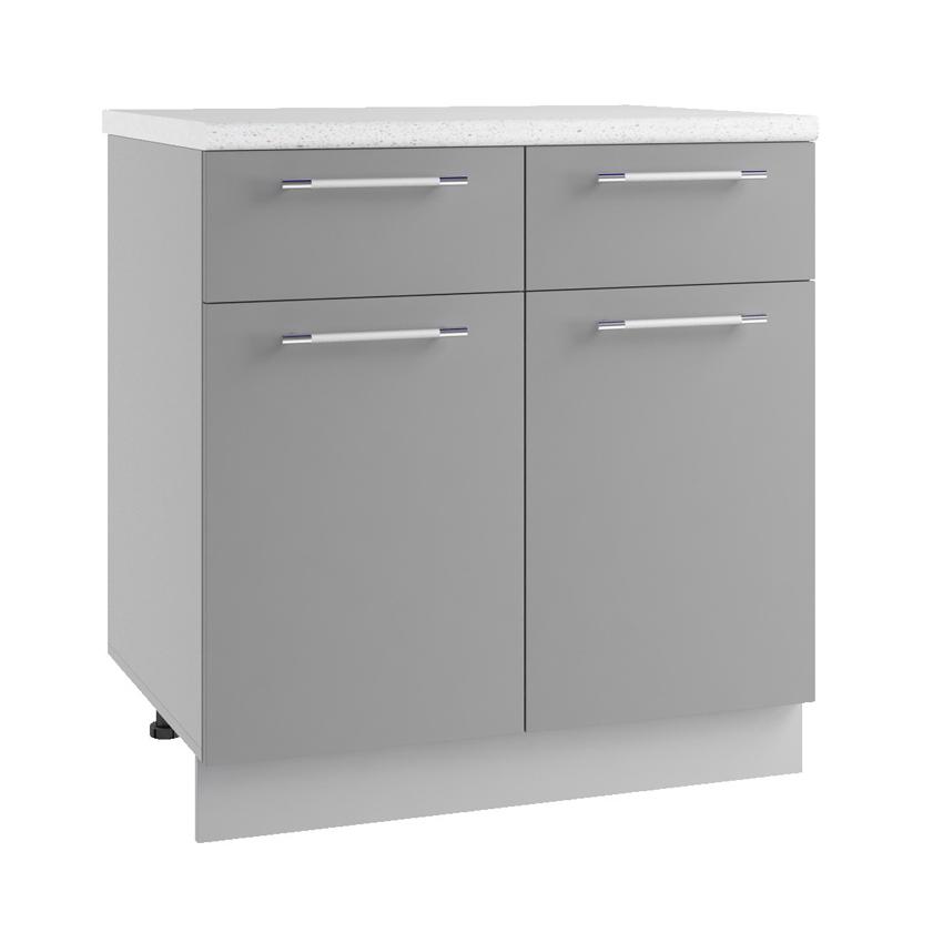 Кухня Маша С2Я 800 Шкаф нижний с 2 ящиками