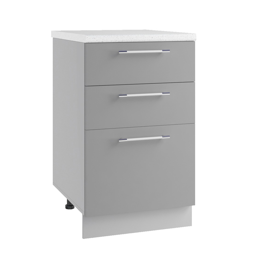 Кухня Маша СЯ 500 Шкаф нижний 3 ящика