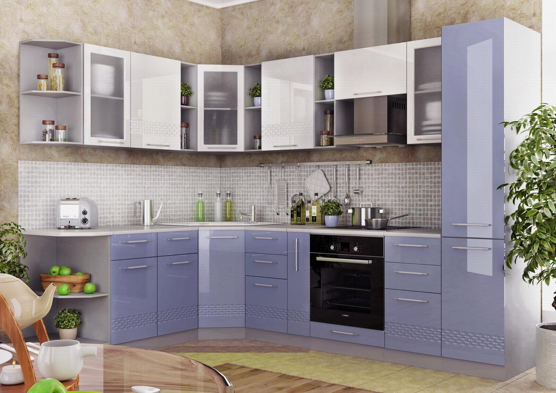 Кухня Капля 3D СУ 1000 Шкаф нижний угловой петли справа
