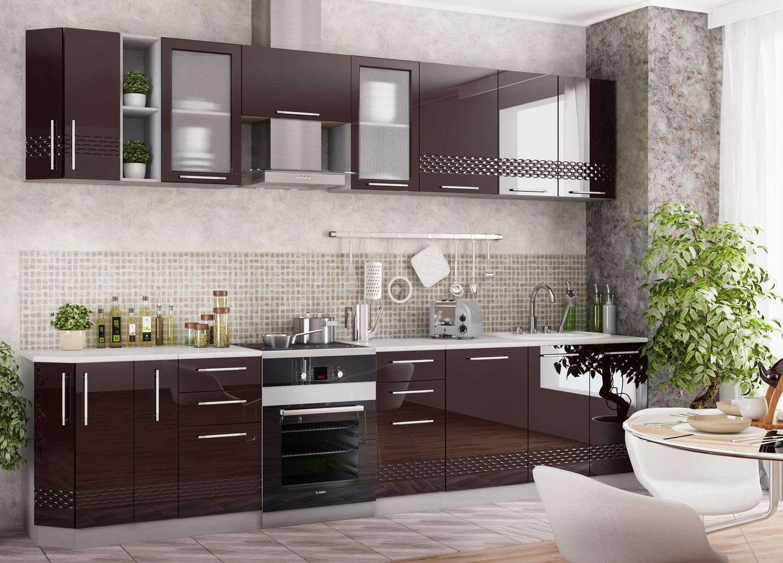 Кухня Капля 3D СК2 500 Шкаф нижний комод 2 ящика
