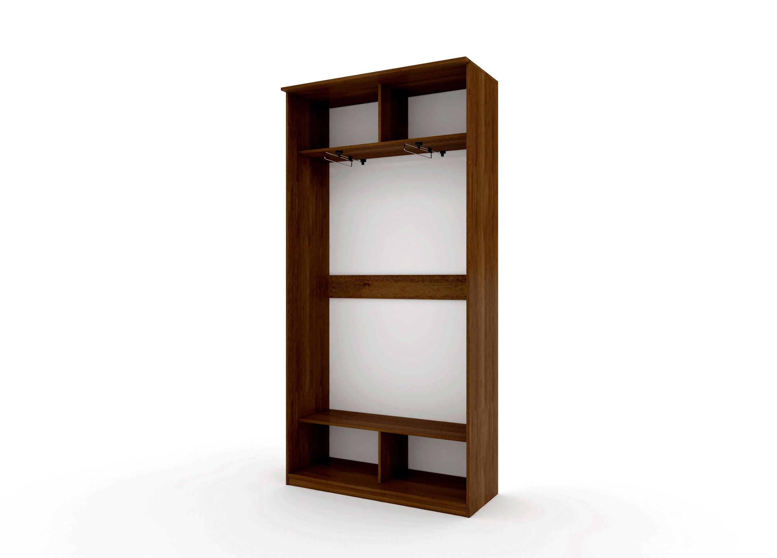 Шкаф купе Топ-Лайн 1190 / 450 / 1 секция / 1 зеркало