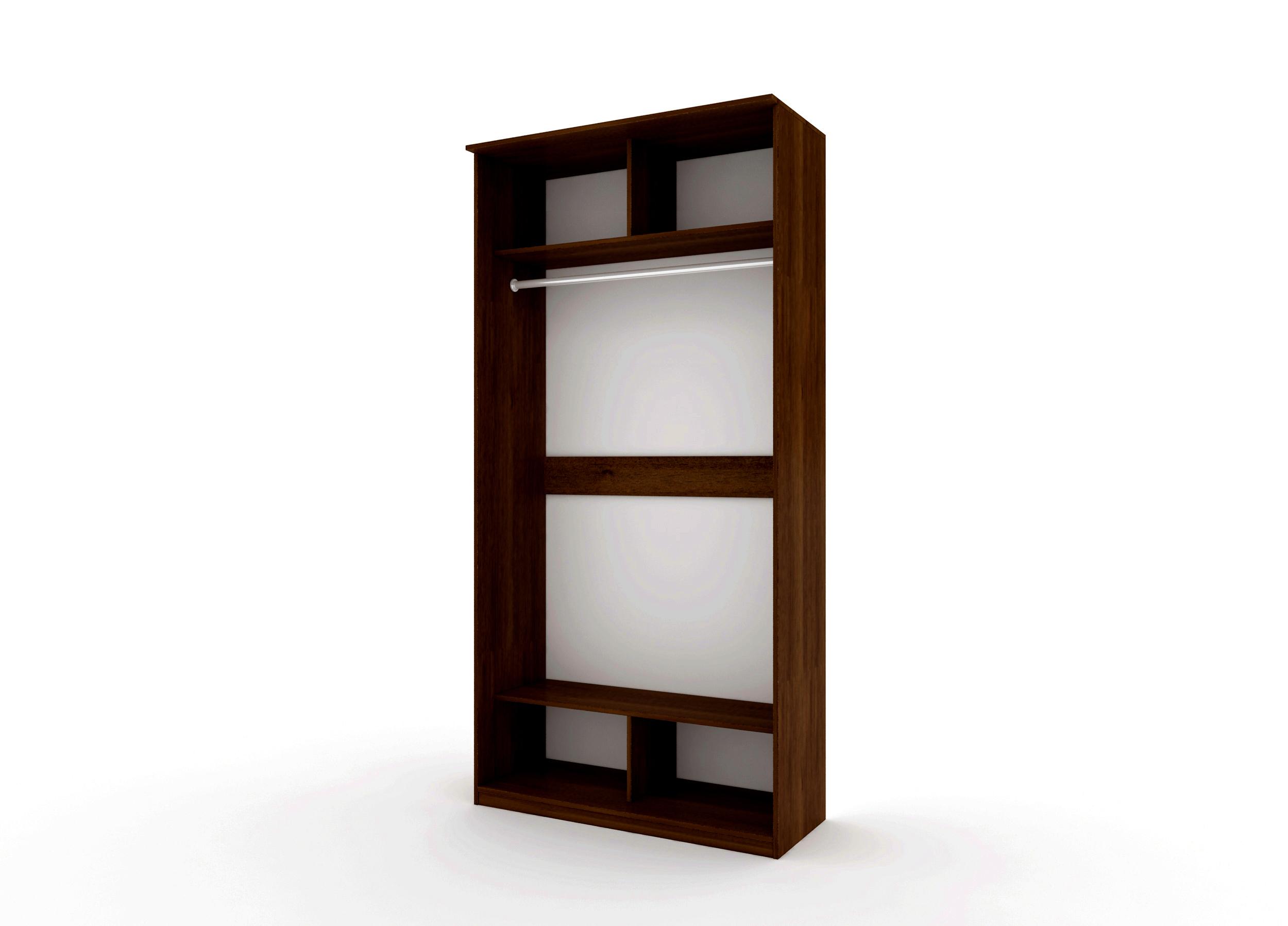 Шкаф купе Топ-Лайн 1190 / 600 / 1 секция / 2 зеркала