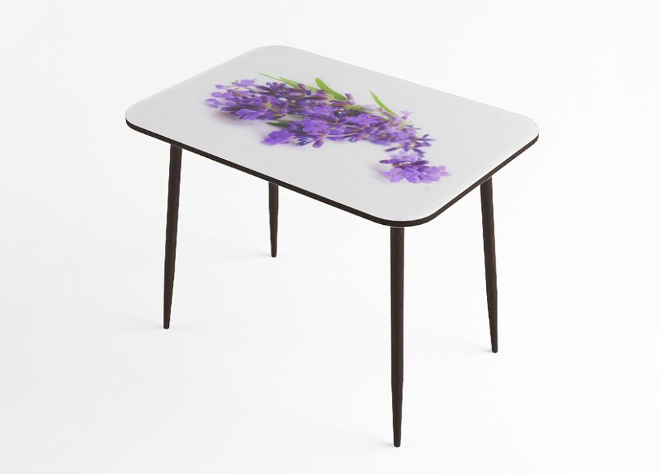 Стол обеденный Лаванда стекло