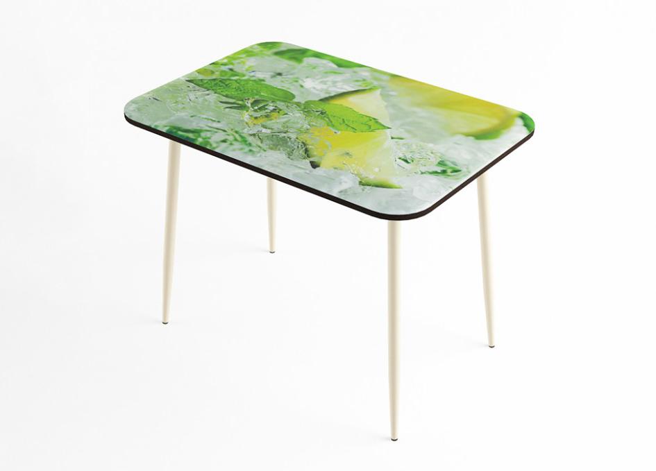 Стол обеденный Лайм стекло