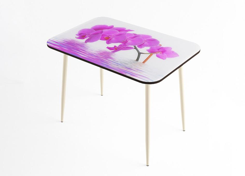 Стол обеденный Орхидея стекло