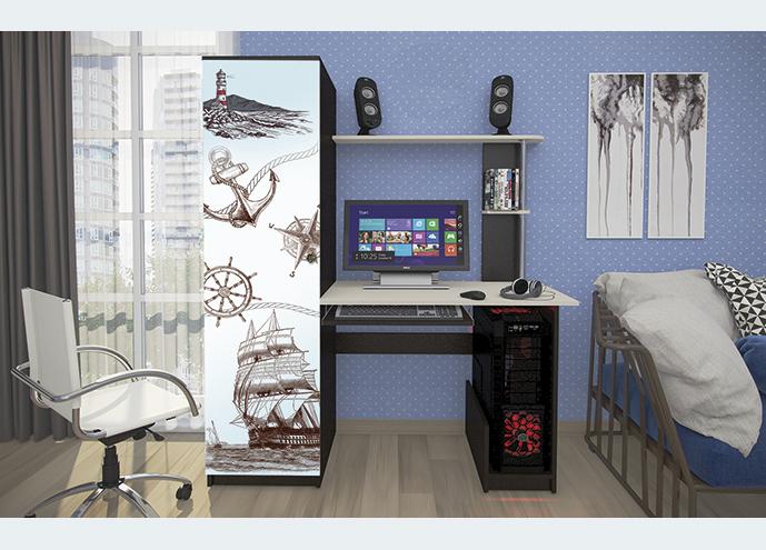 Стол компьютерный КС-001 с фотопечатью