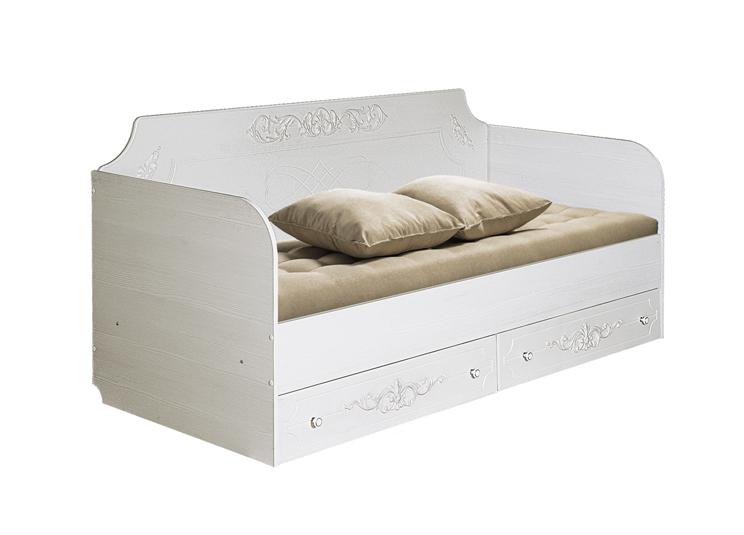 Барокко Кровать с ящиками 800*2000