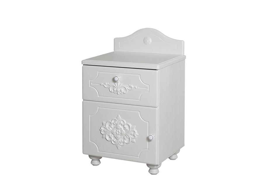 Барокко Тумба прикроватная с дверью и ящиком