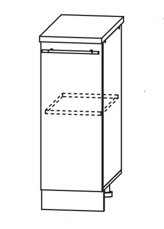 Кухня Флора С 300 Шкаф нижний