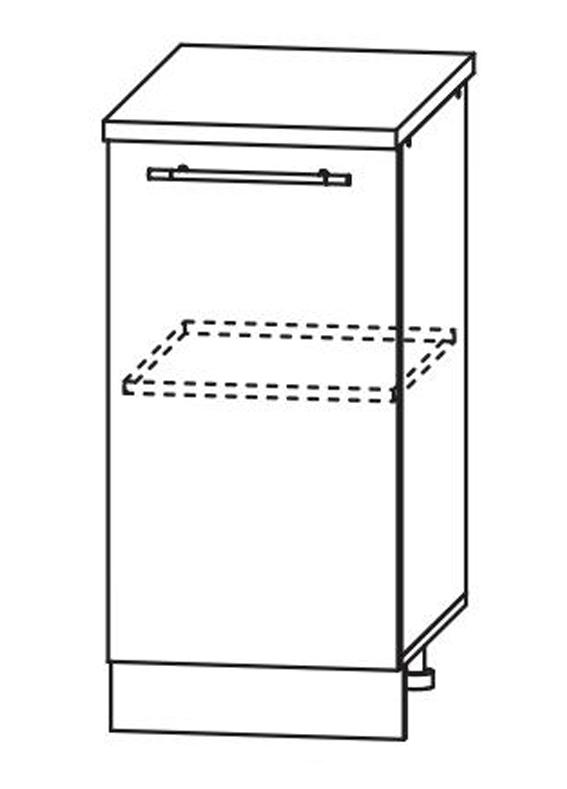 Кухня Флора С 450 Шкаф нижний