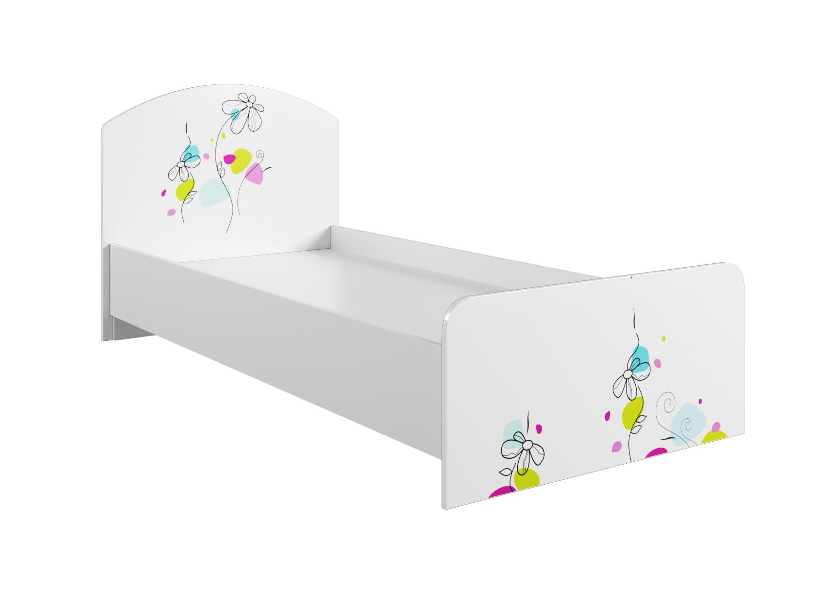 Детская Радуга Кровать 900 КРД 900.1