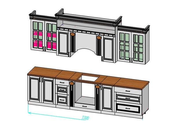 Кухня Верона 3300