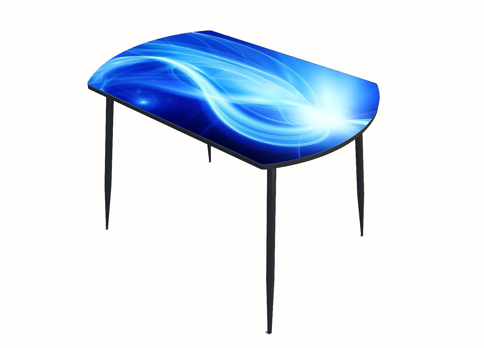 Стол стекло фотопечать Сияние 044
