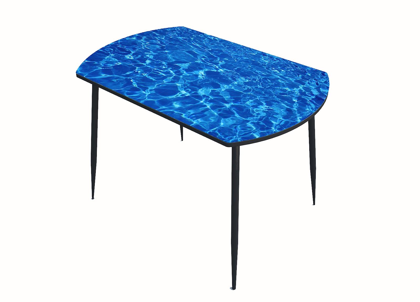 Стол стекло фотопечать Море 045