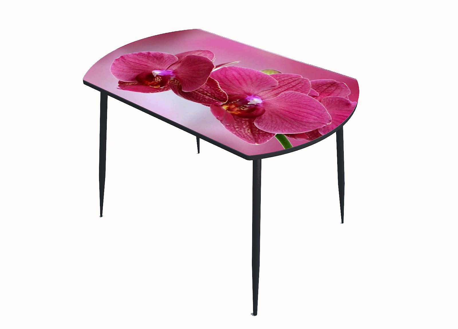 Стол стекло фотопечать  Орхидея 056