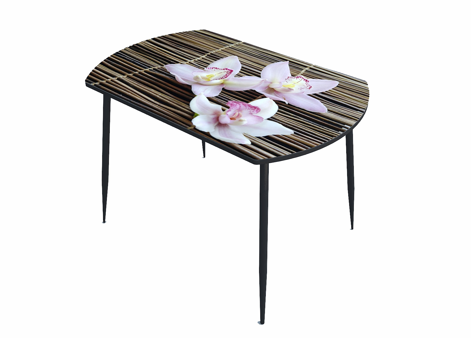 Стол стекло фотопечать Орхидея 060
