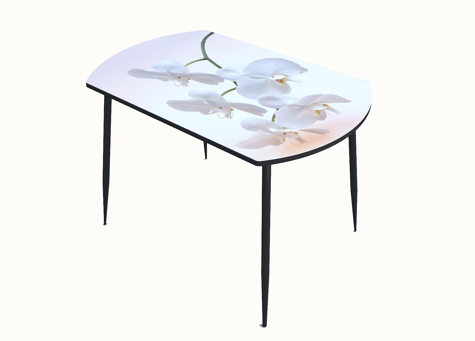 Стол стекло фотопечать Орхидея 062