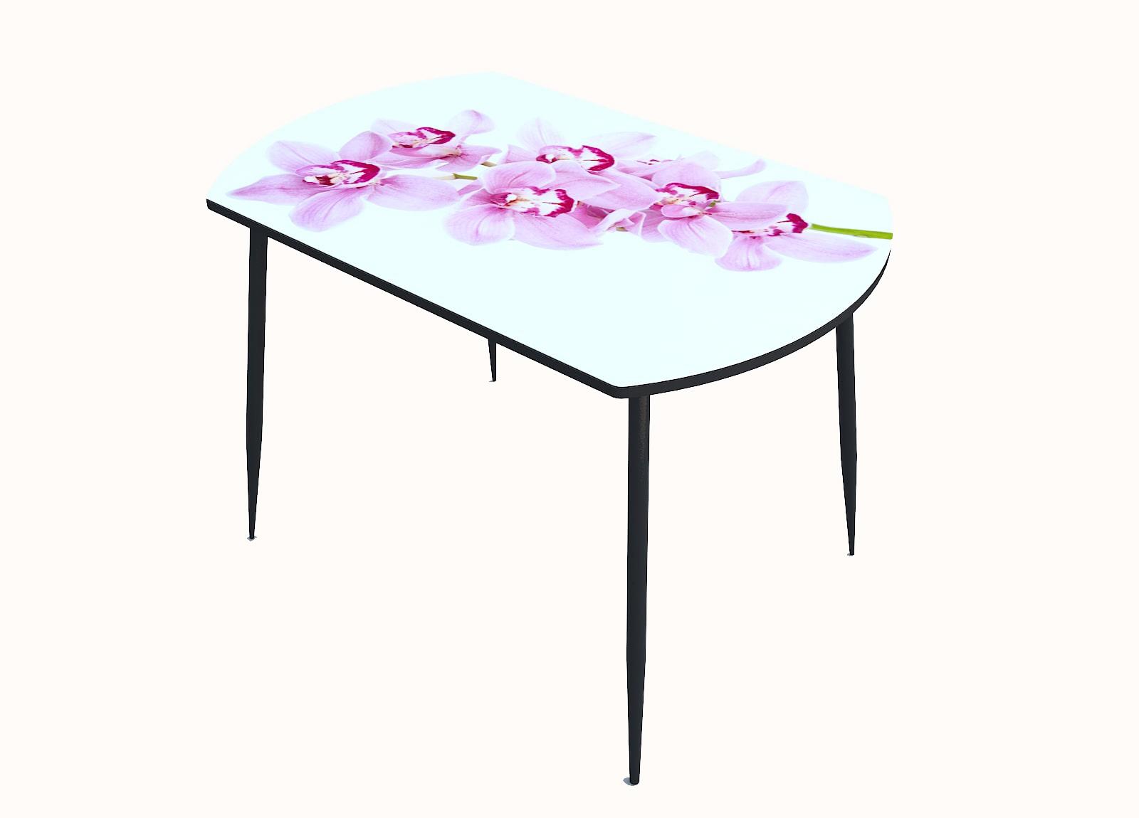 Стол стекло фотопечать Орхидея 064