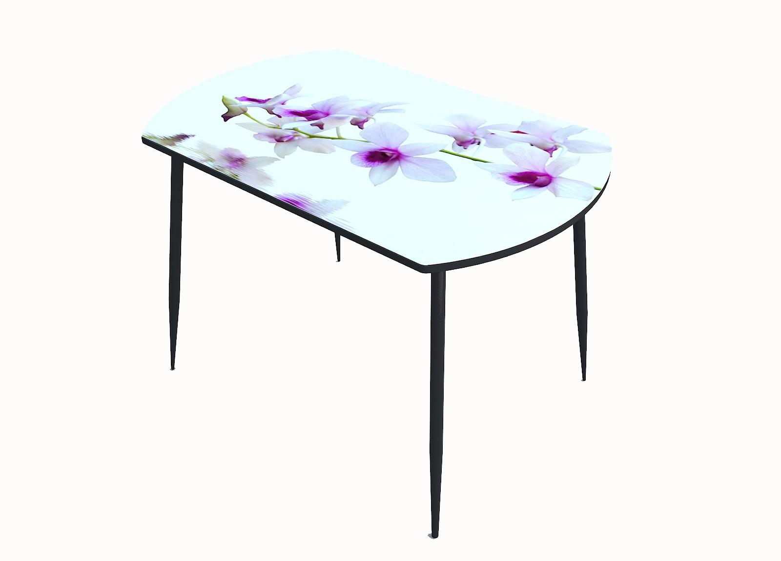 Стол стекло фотопечать Орхидея 066