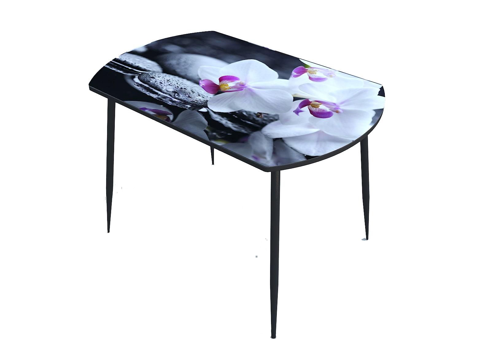 Стол стекло фотопечать Орхидея 067