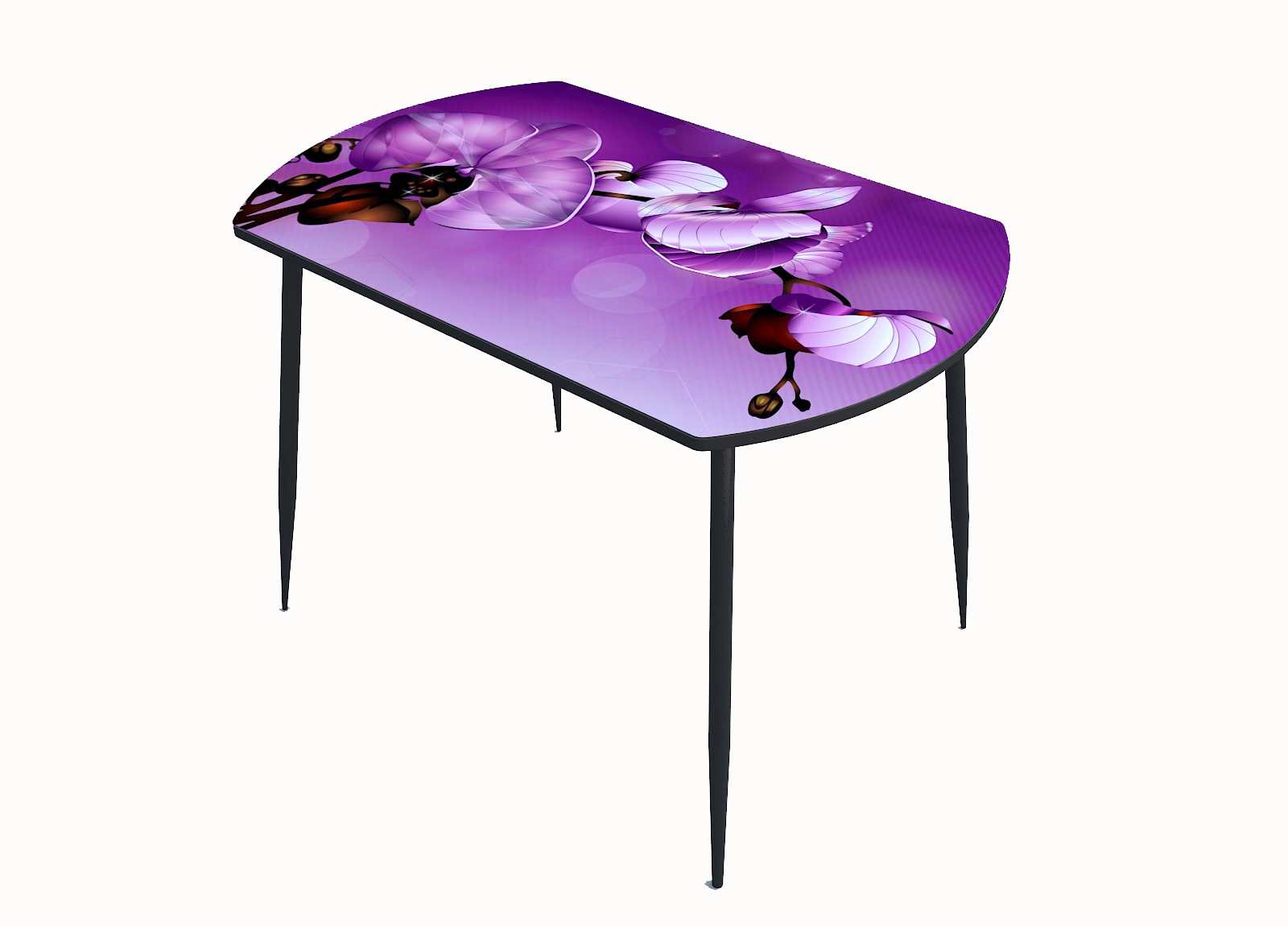 Стол стекло фотопечать Орхидея 069