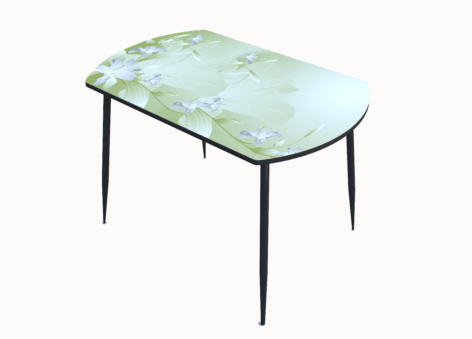 Стол стекло фотопечать Лилия 092