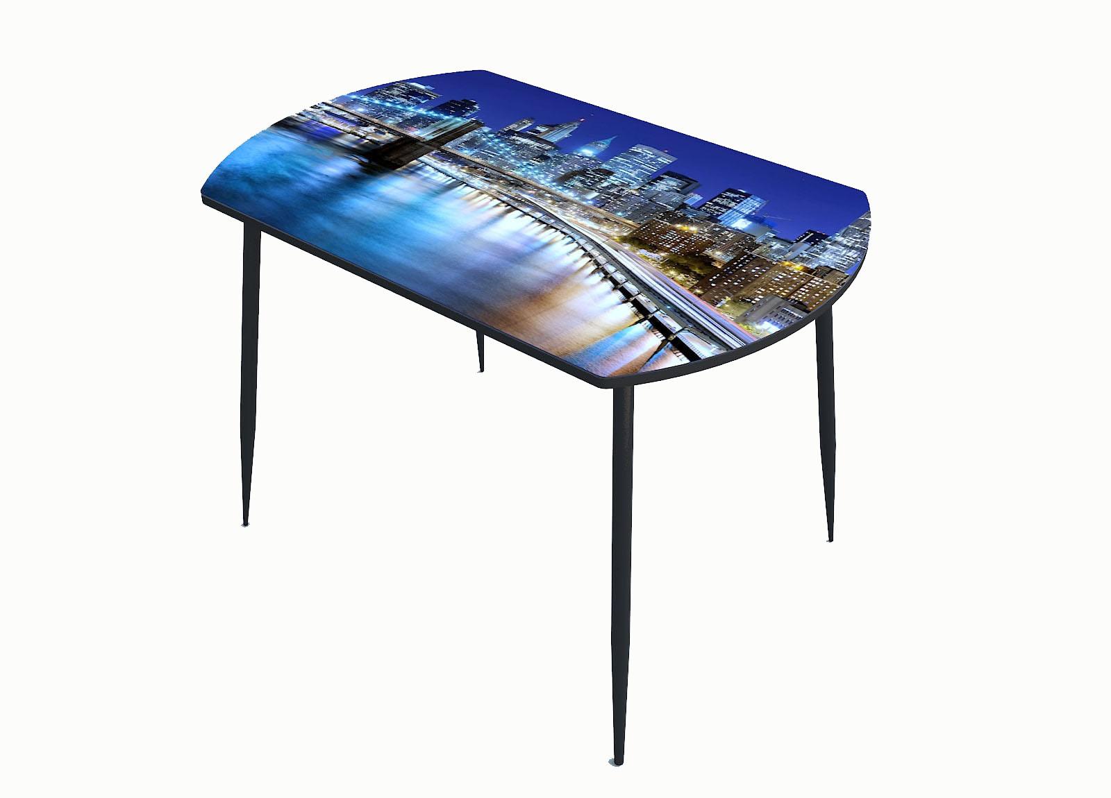 Стол стекло фотопечать Город 106