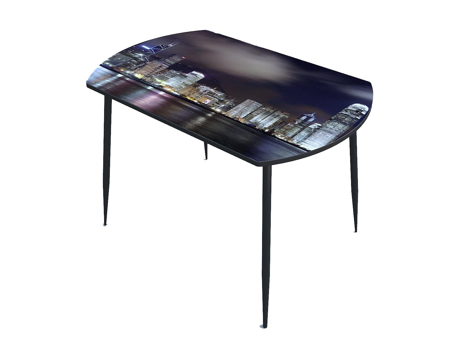 Стол стекло фотопечать Город 107