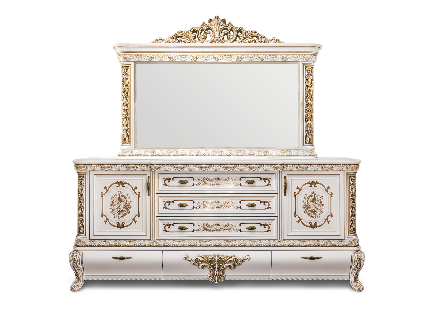 Гостиная Алсу Комод с зеркалом