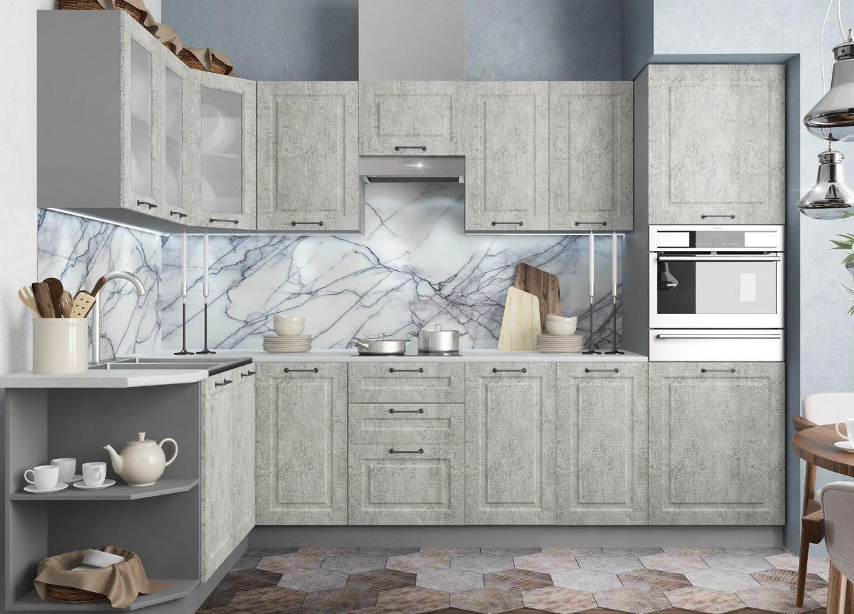 Кухня Капри С 1000 Шкаф нижний