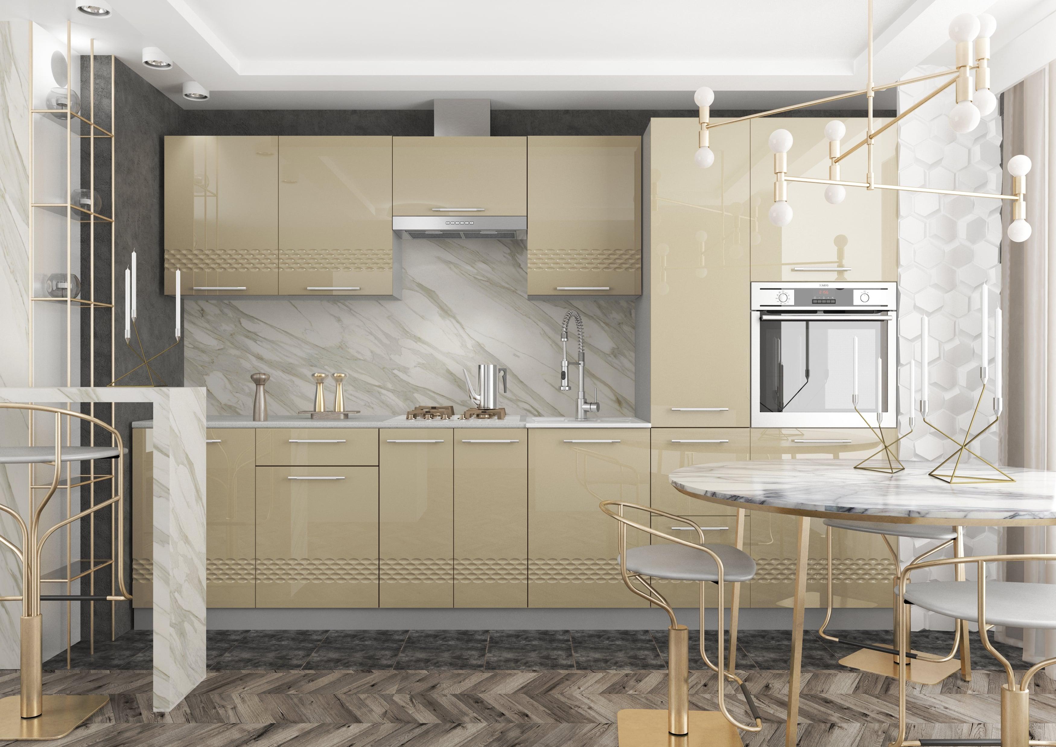 Кухня Капля 3D 3100