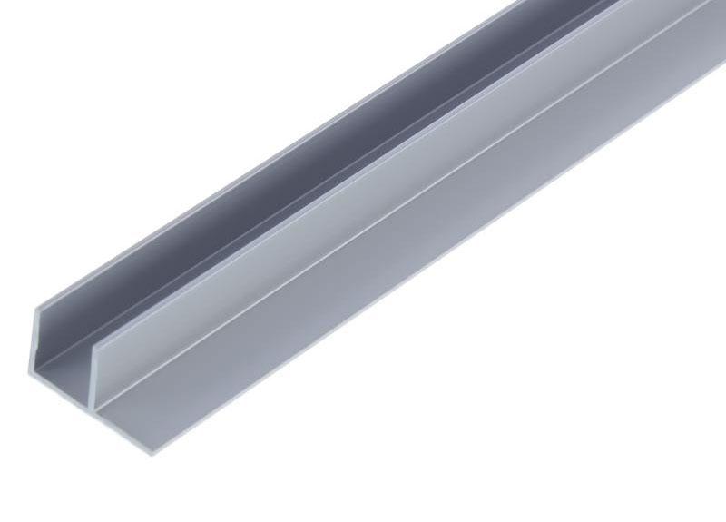 Планка соединительная угловая для мебельного щита 4 мм