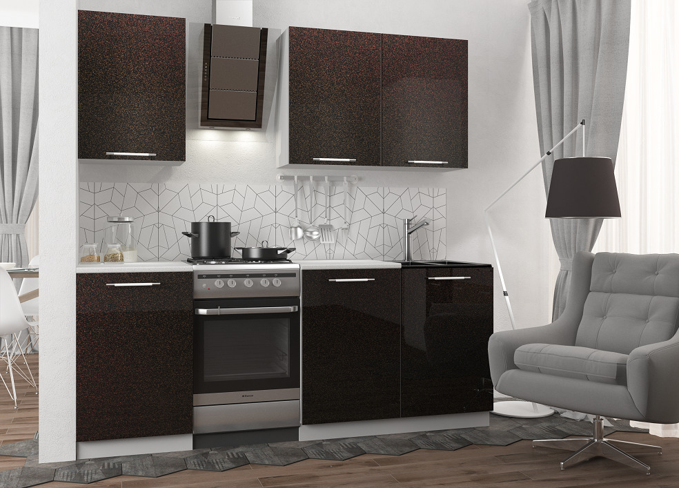 Кухня Олива 1500