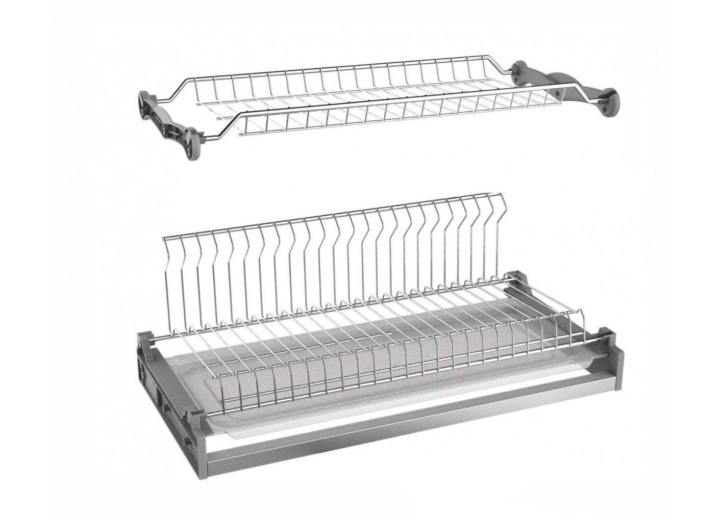 Посудосушитель с  под.L-образ 500 BOYARD TONICA (SU05)