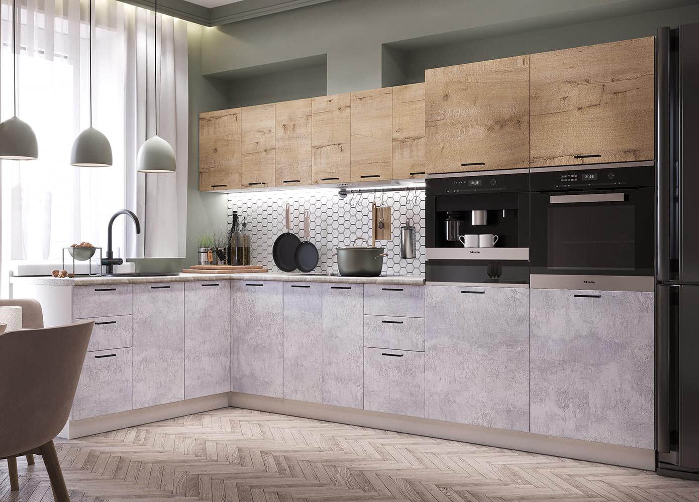 Кухня Дуся 3400*1900