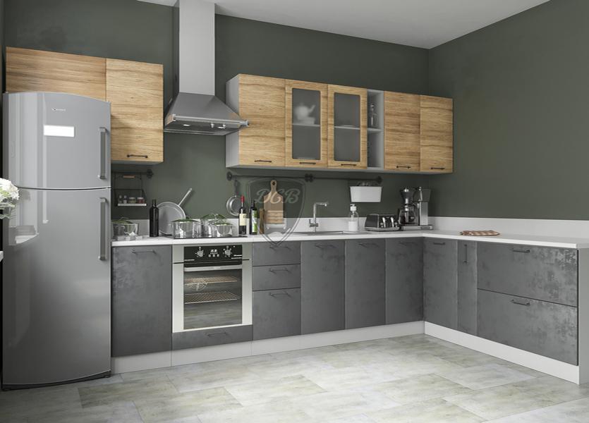 Кухня Лофт 3000*2000