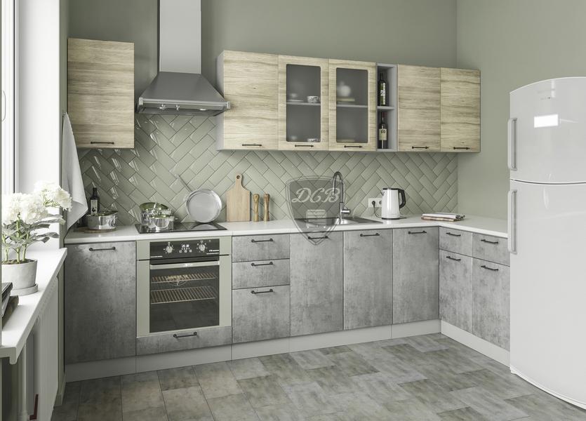 Кухня Лофт 3000*600