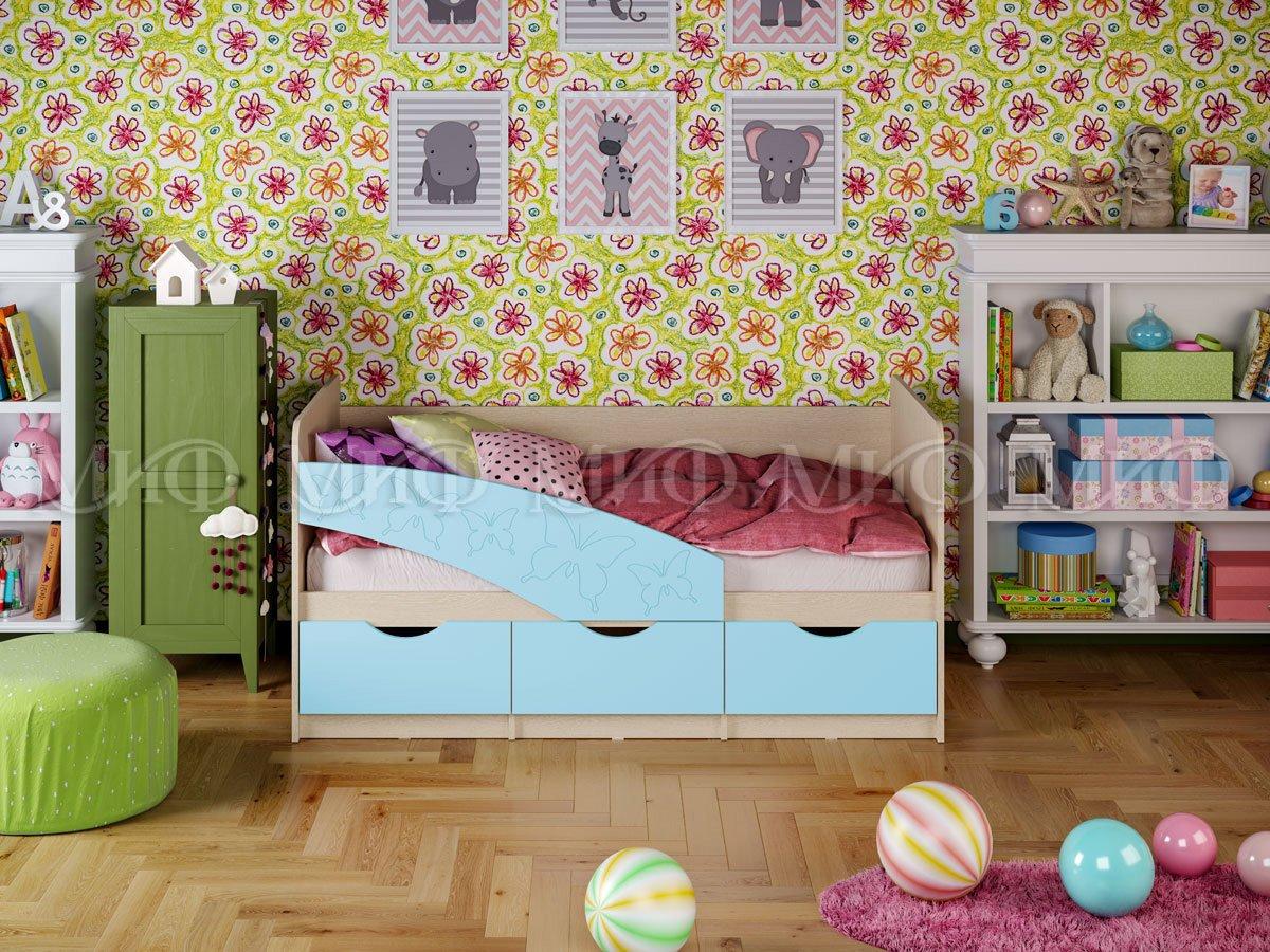Кровать Бабочки 1 1,8 матовый