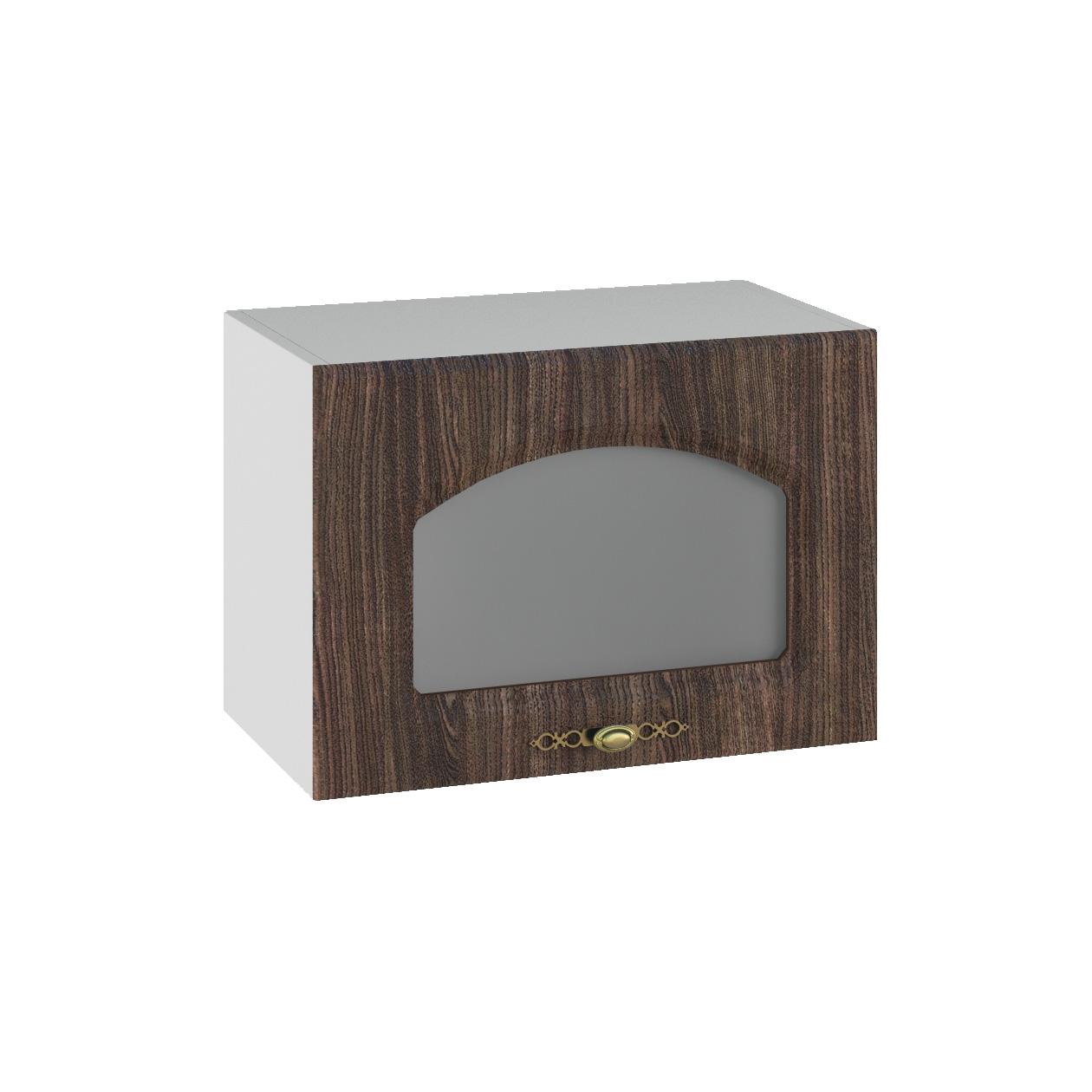 Кухня Монако ПГС 500 Шкаф верхний горизонтальный стекло