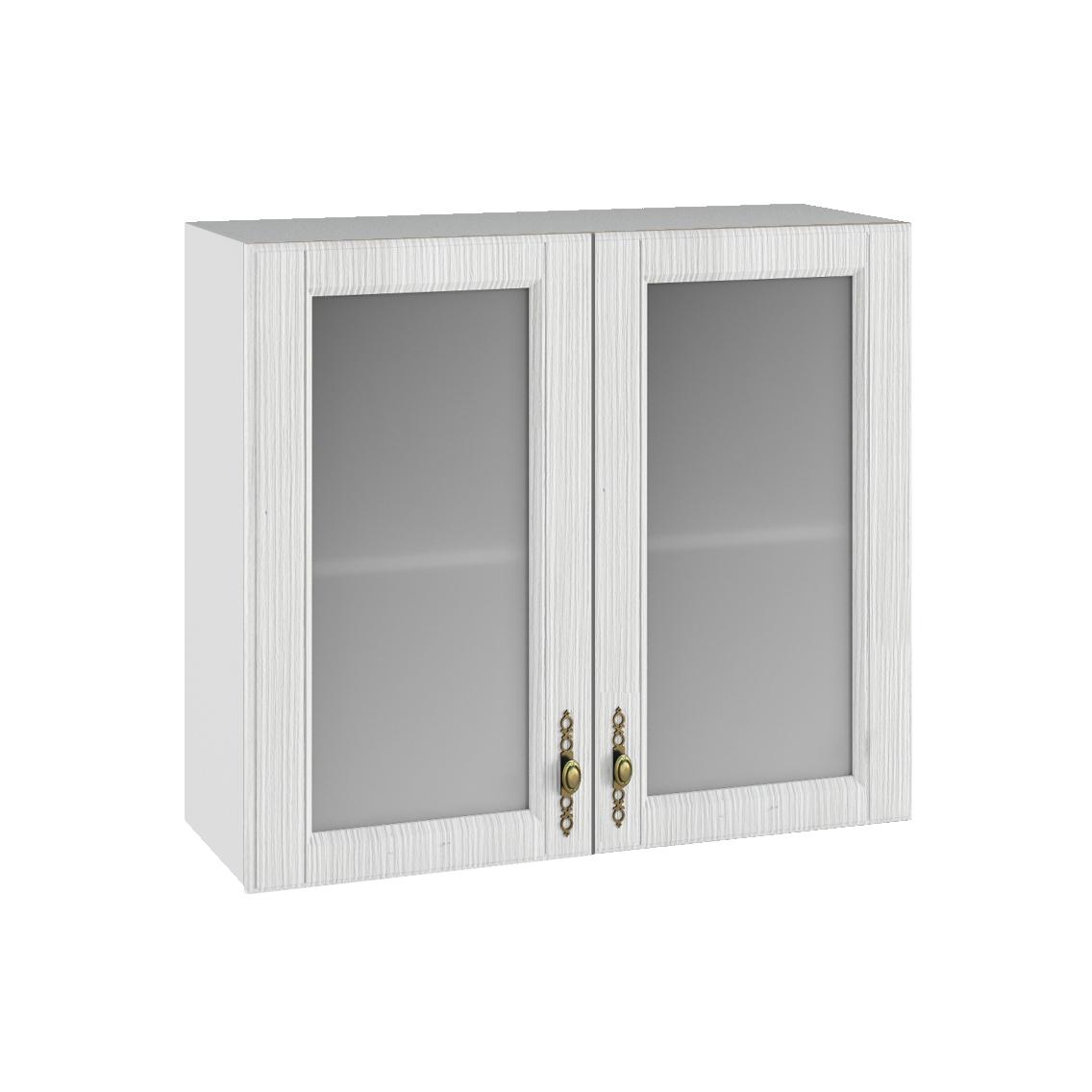 Кухня Империя ПС 800 Шкаф верхний стекло