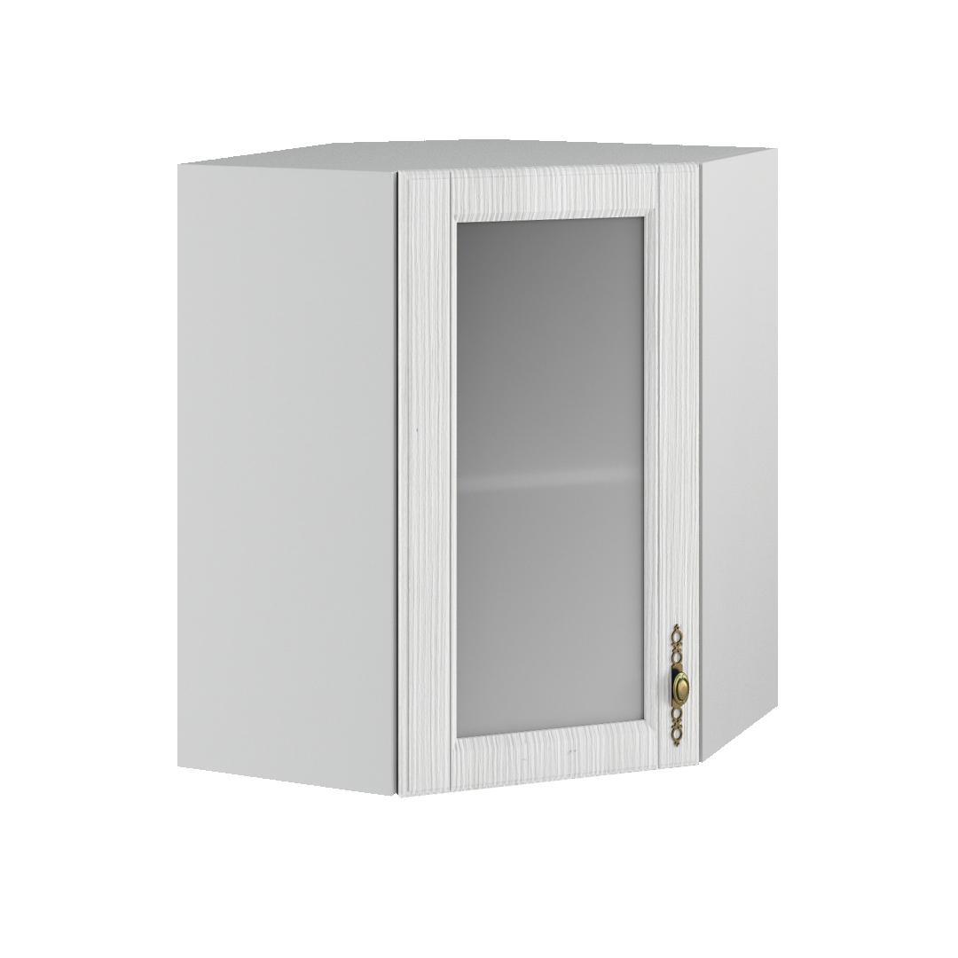 Кухня Империя ПУС 550*550 Шкаф верхний угловой, стекло