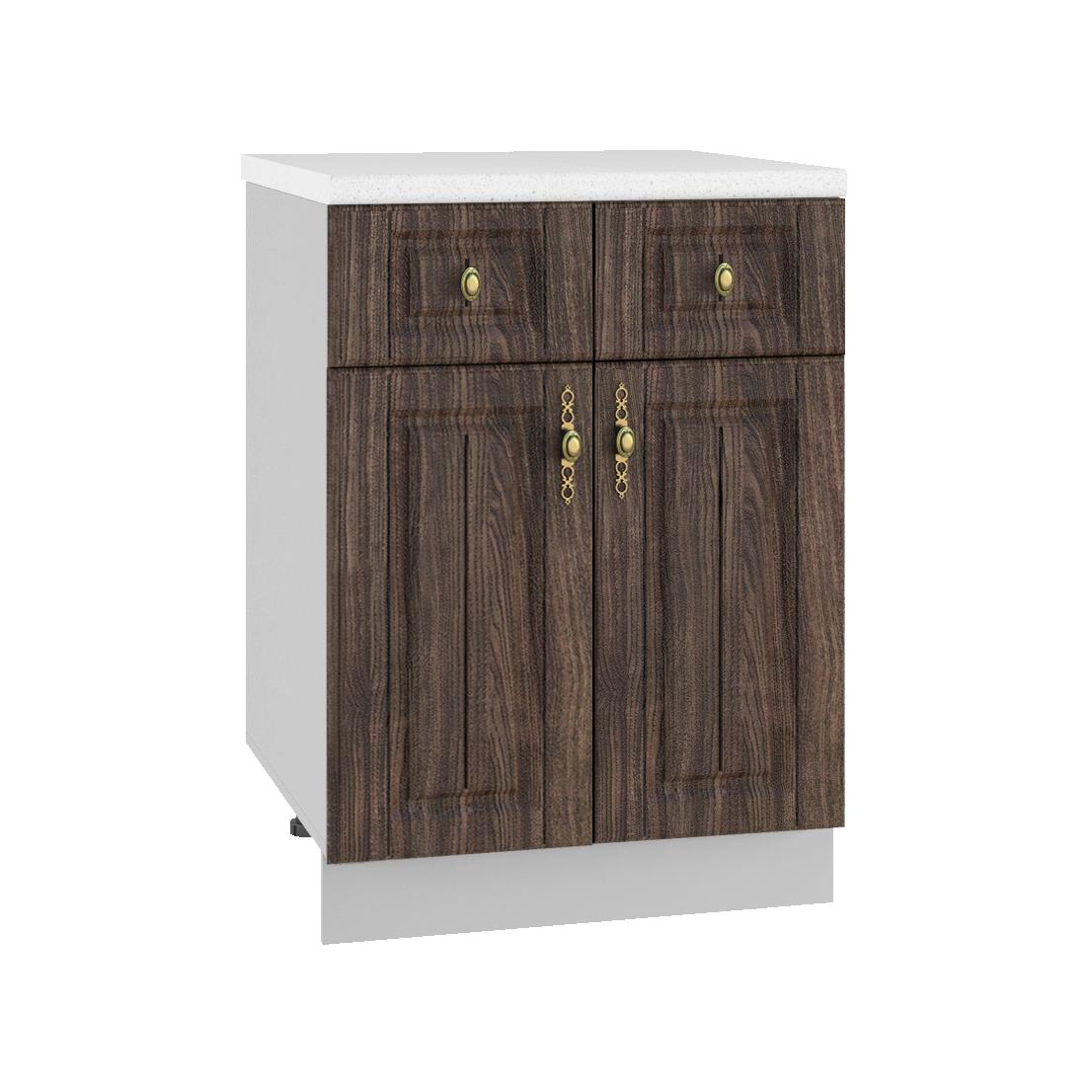 Кухня Империя С2Я 600 Шкаф нижний /2 ящика